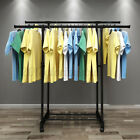 Clothes Rail Rack Garment Hanging Display Stand Shoe Storage Shelf Wit A+
