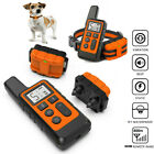 Dog Training Collar Rechargeable Remote Control Vibration Electric Pet Shock US