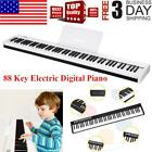 88 Key Electric Digital Piano Keyboard Weighted Key w/Sustain Pedal Power Supply