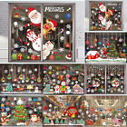 Christmas Door Window Stickers Xmas Festival Decals Home Party Decoration New
