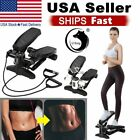 Fitness Stepper Exercise Machine Aerobic Fitness Step Air Stair Climber Workout