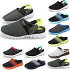 New Mens Summer Beach Holiday Flat Sandals Casual Water Slip On Flat Shoes Size