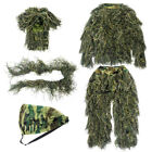 5in1 3D Tactical Camouflage Clothing Forest Hunting Sniper Ghillie Suit Woodland