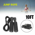 Gym Aerobic Exercise Boxing Skipping Jump Rope Bearing Speed Fitness A3