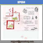 Merry Christmas Leaves Metal Cutting Dies and Stamps Stencil Scrapbooking