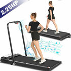 Treadmill Electric Motorized Folding 2.25 HP 2 in 1 Running Machine Home Office-