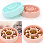 Pet Slow Food Water Feeder Pet Dog Cat Anti-Gulping Food Bowls For Dogs Puppy