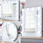 Hollywood Makeup Vanity Light Up Mirror with LED Illuminated Dimmable Bulbs