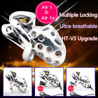 New Stainless Steel Cage Venting Hole Male Electric Chastity Device Air 1