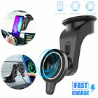 Car Wireless Fast Charger Phone Mount Holder Magnetic For iPhone 11 Pro Max Mini