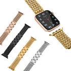 For Apple Watch Series 7 6 5 4 3 2 SE 38 44 mm Woven Stainless Steel Band Strap