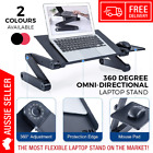 NEW Portable Foldable Laptop Stand Desk Table Tray Multi Adjustable High Quality