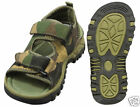 WOODLAND CAMO HIKING SANDALS  SIZES 1 -12 AVAILABLE