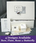 PERSONALISED 25th Silver Anniversary Keepsake Box + Extras A20