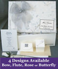PERSONALISED 25th Silver Anniversary Keepsake Box + Extras A11