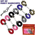 Furry Handcuffs Adult Lovers Hand Cuffs - 6 Colors NEW
