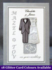 PERSONALISED Mazel Tov Jewish Wedding Card +18 Options Q1SBG