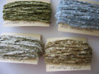 Hand Dyed Mini Chenille trim, 5 yards, COLOR CHOICE