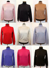 Scottish Collection Ladies Cashmere Polo Neck Jumper