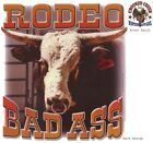 Rodeo Bad A**, Bull, New White T-shirt, S-XL