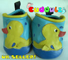 Cuddulz Baby Leather Soft Shoes Duck 0-3 3-6 6-12 Month