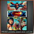 Superman Marvel Comics Movie Box Canvas Art Reay To Hang More Color & Size !
