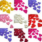 100PCS Heart Design Silk Rose Petals Wedding Party New Flower Decorations