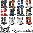 SIDI CROSSFIRE MX MOTOCROSS ENDURO OFF ROAD BOOTS RED BLUE BLACK WHITE ORANGE