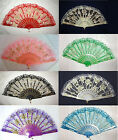New Flower Lace Hand Held Fan Goth Lolita Accessory Lady's Liked