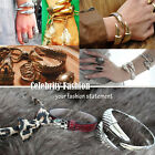 jbr1 Celebrity Style Punk Wraparound Claw Clamp Bracelet Bangle Cuff 4 Colours