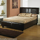 LUXURY Kingston 5ft Kingsize HAND MADE FAUX LEATHER BED FRAME Free Next Day