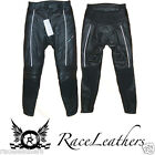 SWIFT AIR ARMOURED LEATHER MOTORCYCLE SPORTS BIKE TROUSERS JEANS