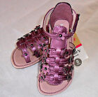 NWT: New Carter's Purple Flower Sandal, Toddler Size 6, 7, 8 or 11, Rtls $30