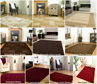 SMALL - EXTRA LARGE CONTEMPORARY DARK BROWN,BEIGE, RED, AUBERGINE THICK RUG