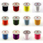 20 Metres Flat Stretch Elastic Thread Spool 0.8mm For Jewellery Making