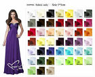 Chiffon Color Swatch sample for Charming Chiffon Strapless Wedding Party Dress