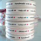 3m ROLL - BERTIES BOWS -  GROSGRAIN FABRIC RIBBON i ♥ handmade knitting stitched