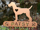 Irish Terrier Garden Plaque PET MEMORIAL Yard Stake Personalized Dog Canine