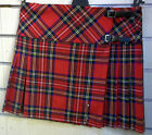 Great Gift: Ladies Billie Kilt Wool Tartan Stewart Royal