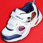 NEW Boys Toddler's CARTER'S LIGHTS WILLY White Athletic Velcro Sneakers Shoes