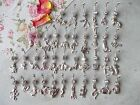 CHOOSE BAR LENGTH & DESIGN, ANIMAL BELLY BAR,6,8,10,12MM, ELEPHANT,GECKO,SPIDER,