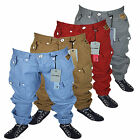 NEW BOYS ZICO JEANS MJT23 DESIGNER TAPERED FIT CUFFED CHINOS ALL WAIST SIZES