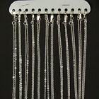 """12 x Silver Plated Fine Metal Necklace Cable Chains 16"""" 18"""" 20"""" 22"""""""