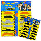 2 Style Set Of 12 Mixed Stylish Costume Party Fake Mustache Moustache Party