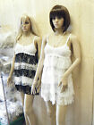 CUTE RARA LAYERED CROCHET BABY DOLL MINI MICRO SUMMER HEARTS LADIES DRESS 8-12