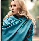 Lady Fashion Scarf  Wrap Extra Large Double Colour Design