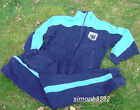GERMAN ARMY SURPLUS BLUE BUNDESWEHR TRACKSUIT ZIP THROUGH TOP OR TROUSERS,G1,PT