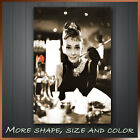 ' Audrey Hepburn ' Moive Icon Pop Art Canvas More Color & Style & Size !