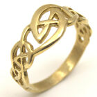 Celtic Knot Ring 9ct Gold