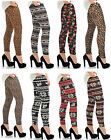 Womens Pattern Leggings Nordic Print Animal Print Ladies New